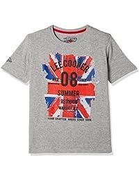 Lee Cooper Boys' Floral Regular Fit T-Shirt