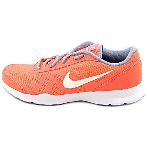 Nike Damen W Core Motion Tr 2 Mesh Gymnastikschuhe, Talla Naranja (Brght Mng / Mtlc Pltnm-Bl Gry-Pc)
