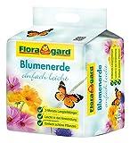 Floragard torfreduzierte Blumenerde einfach leicht 40 L • Universalerde • mit 3-Monate-Langzeitdünger für Balkon-, Kübel- und Zimmerpflanzen • mit dem Naturdünger Guano