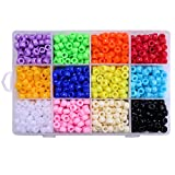 Best BEADNOVA Jewelry Boxes - Beadnova Bulk Plastic Rainbow Opaque Mix Color Pony Review