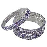 Ridhi Sidhi Collection Purple Brass Allo...