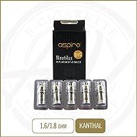 Aspire Nautilus / Nautilus Mini BVC Verdampferköpfe Vertikal-Dual-Coil [5 Stück] 1,8 Ohm preisvergleich bei billige-tabletten.eu