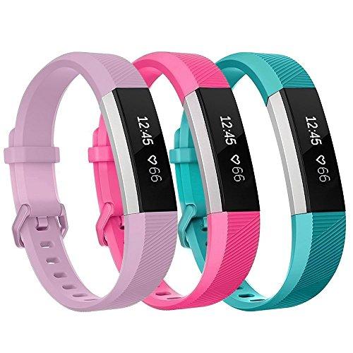 Goseth Bracelet en TPU de remplacement pour Fitbit Ace (14- 17cm), enfants