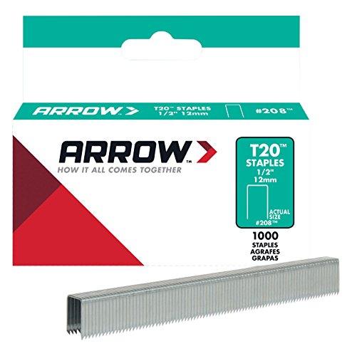 Arrow 160842 T20 Pack de 5000 Agrafes 12 mm