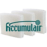 Accumulair Duracraft ac-818/ac-819 humidificador Mecha Filtro 3 Pack (Aftermarket