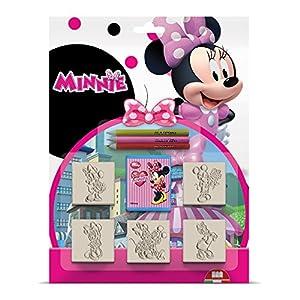 MULTIPRINT 5866 Minnie - Juego de tampones (5 Unidades)