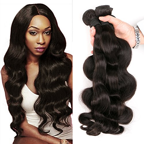 DAIMER 4 Bundles of Brazilian Body Wave 16 18 20 22 Inch...