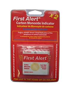 First Alert Carbon Monoxide Detector Indicator Patch, FACOPE (Old Version)