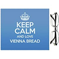 'Blu con scritta Keep Calm and Love Vienna pane 3113 colore lenti