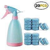 Aubess Spray Flasche Kunststoff Wasser Spray Salon Pflanzen Pet Reinigung Verwenden Garden Home Praktische Easy, Blau, 20