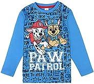 PAW Patrol - Camiseta de manga larga para niño, color azul