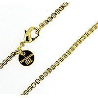 Collana Veneziana 18ct oro doublé 2,6 mm lunghezza a scelta uomo donna gioielli regalo dalla fabbrica