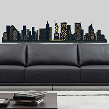 New York Skyline Wall Stickers Part 40