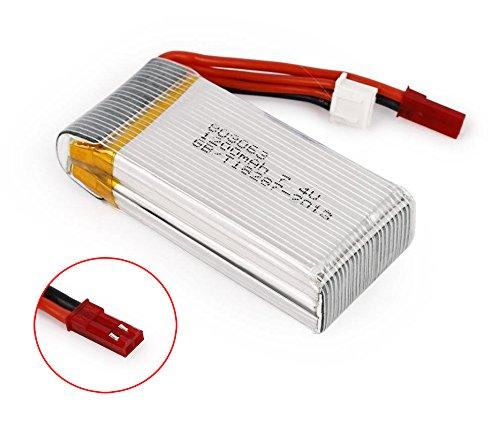 EX1 7,4V 1200mAh LiPo Batería para MJX X101 / JJRC H16 /...