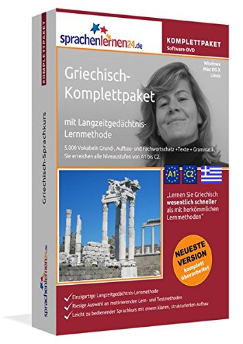 Sprachenlernen24.de Griechisch-Komplettpaket (Sprachkurs): DVD-ROM für Windows/Linux/Mac OS X inkl....