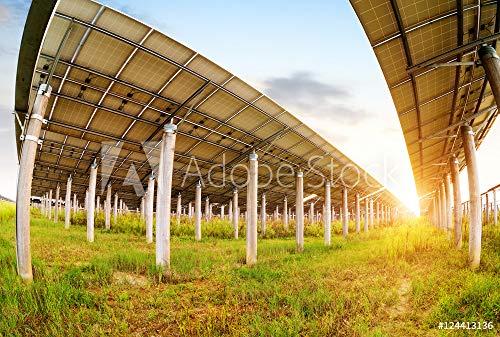 druck-shop24 Wunschmotiv: Solar Panel #124413136 - Bild auf Alu-Dibond - 3:2-60 x 40 cm / 40 x 60 cm