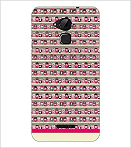PrintDhaba Pattern D-1941 Back Case Cover for COOLPAD NOTE 3 LITE (Multi-Coloured)