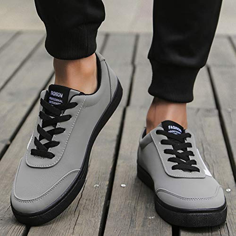 NANXIEHO NANXIEHO NANXIEHO Autunno e Inverno Pu Fashion Trend retrò senza scarpe da ginnastica di velluto Sport Leisure Resistente all'usura...   Il colore è molto evidente  07c452