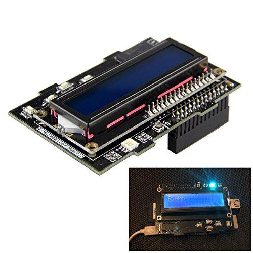 Negative 16 x 2 LCD Bedienteil Kit RGB Hintergrundbeleuchtung für Raspberry Pi