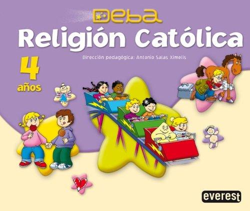 Religión Católica 4 años. Proyecto Deba - 9788424188832