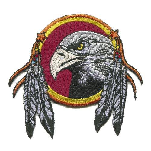 Gestickte Adler (Dreamcatcher Adler mit Federn Traumfänger Patch Patches Aufnäher Aufbügler 504)