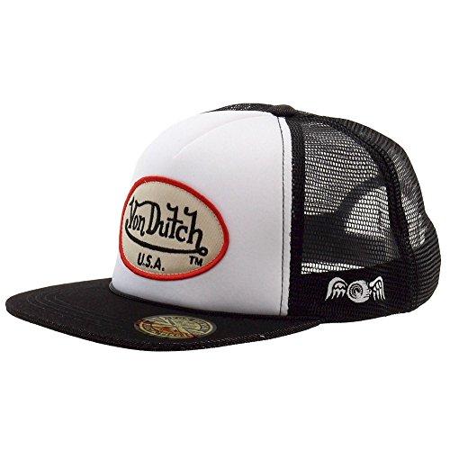 Von Dutch Herren OG Patch Tan/So Cal White Trucker Cap Hat (Einheitsgröße)