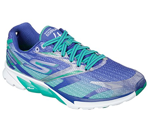 Skechers Go Run 4 Armaco Mens Running Shoes Blue/Green