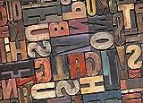 Küchenläufer rutschfest color-rè Fantasie Letters 60x190 Letters