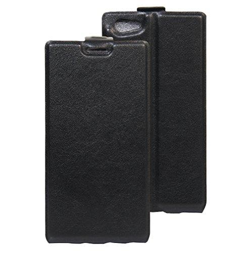 Ledertasche für Doogee Y300 Hülle, Manyip PU Ledertasche Flip Cover Wallet Case Handyhülle mit Stand Function Credit Card Slots Bookstyle Purse Design