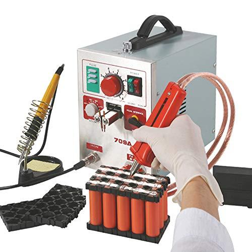 Hanchen Saldatrice Punti Batterie 3.2kw Saldatore Pulse Batteria 709A con saldatore 2...