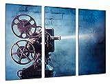 Poster Fotográfico Historia Cine Antiguo Hollywood, Proyector Tamaño total: 97 x 62 cm XXL