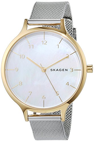 Skagen Femmes Analogique Quartz Montre avec Bracelet en Acier Inoxydable SKW2702