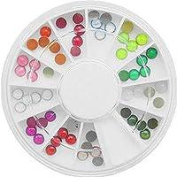 60bella rotonda strass/perla strass ruota (4mm)... finiture. Perfetto per uso con dischi (
