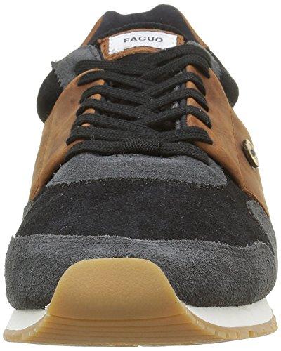 Mogano Uomo F1630 nero Ulivo Basse Sneakers Nero Faguo tnYqZ0Bw