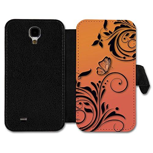 Book Style Flip Handy Tasche Case Schutz Hülle Schale Motiv Etui für Apple iPhone 5 / 5S - A14 Design3 Design 6