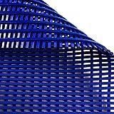 Antirutschmatte Aqua-Grip   für Nassbereiche wie Schwimmbäder und Duschen   antimikrobiell   drei Farben, viele Größen (blau, 60x100cm)