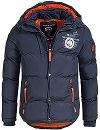 Geographical Norway - Chaqueta acolchada de invierno para hombre, con capucha