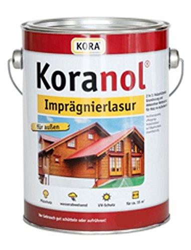 Koranol Imprägnierlasur Aussenlasur Holzschutzlasur Kastanie 2,5L