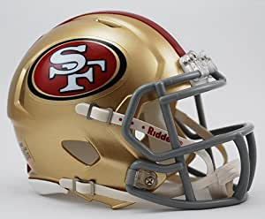 Riddell NFL Mini Casque San Francisco 49ers Replica Mini Speed Helmet