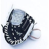 "Benfa Guantes De Béisbol Guantes De Softball Espesar Infield Pitcher Mano Izquierda 9.5""/ 10,5"" / 11,5""/ 12,5"" para Niños Jóvenes Adultos,A,11.5""(13To17)"