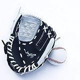 Benfa Baseball Mitts Softball Handschuhe Verdicken Infield Pitcher Linke Hand 9.5'/ 10,5'/ 11,5' / 12,5'Für Kinder Jugendliche Erwachsene,A,12.5'(Adult)