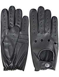 Men's Driving Winter Leather Gloves Classic English Real Genuine Soft Leather