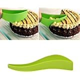 Italish Cake Pie Leaf Cutter Plastic Aerodynamic Cutting Machine Cake Tools Practical Novel Small Cake Pie Slicer Baking Kitchen Accessories