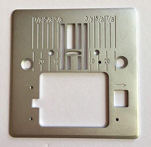 Stichplatte für Pfaff Nähmaschinen Smarter 130S, 140S 150S, 160S (Smarter Pfaff)