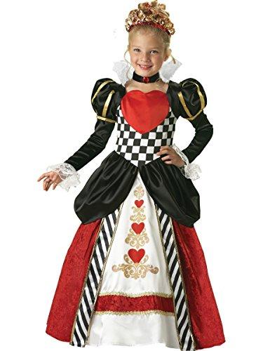Kostüm Der Kids Für Königin Herzen - Königin der Herzen Kinderkostüm - 6/110-116cm