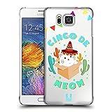 Head Case Designs Katze Cinco De Mayo Pun Ruckseite Hülle für Samsung Galaxy Alpha