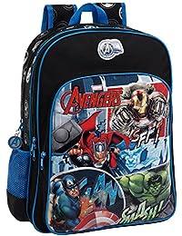 Marvel-Sac à dos double compartiment adaptable au chariot Avengers Street