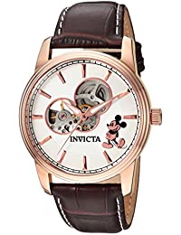 Invicta 24502 Disney Limited Edition - Mickey Mouse Men's Wrist Watch Stainless Steel Automatic Silver Dial