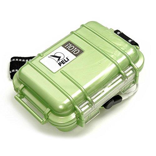 I1010 Micro Case (Peli i1010 Schutzkoffer für Apple iPod grün)