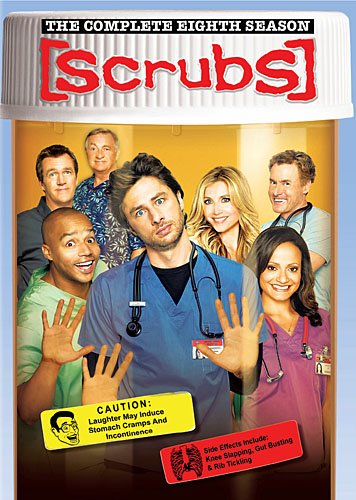 Click for larger image of Scrubs: Complete Eighth Season [DVD] [Region 1] [US Import] [NTSC]